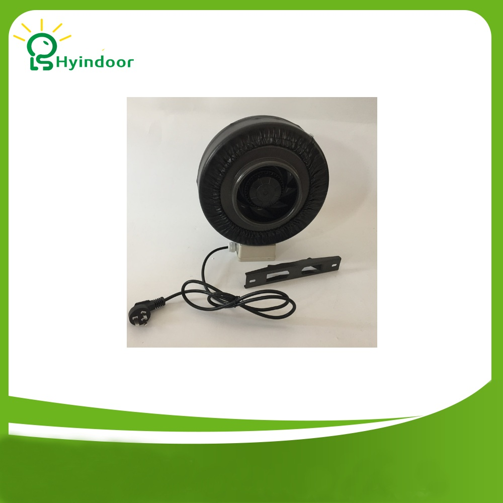 Hyindoor 8 Inches Inline Centrifugal Exhaust Duct Fan Blower for Ventilation Hydroponics цена
