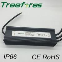 DALI Dimmable LED Driver 60W 80W 100W 120W 150W 200W IP66 DC 12V 24V Power Supply Dimming Transformer Outdoor Voltage Regulator