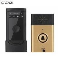 Wireless Intercom Doorbell Voice Calls Waterproof Battery Control 200M Remote Home Intelligent Cordless Doorbell