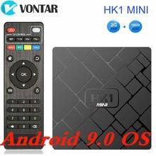 VONTAR 4K Smart TV BOX Android 9.0 HK1 MINI Media Player Roc