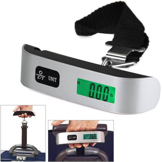 Image 5 - 50kg x 10g Digital Luggage Scale Portable Electronic Scale Weight Balance suitcase Travel Hanging Steelyard Hook scale-in Weighing Scales from Tools