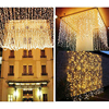 Curtain Lights Connectable Led Light Led Christmas Lights 3m X 3m 300 LED Indoor Starry Light