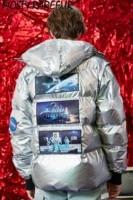 Más y RAREFUR Hip Hop bombardero chaqueta hombres invierno burbuja gruesa  cazadora sombrero Mangas desmontables 88a6ffdce7f