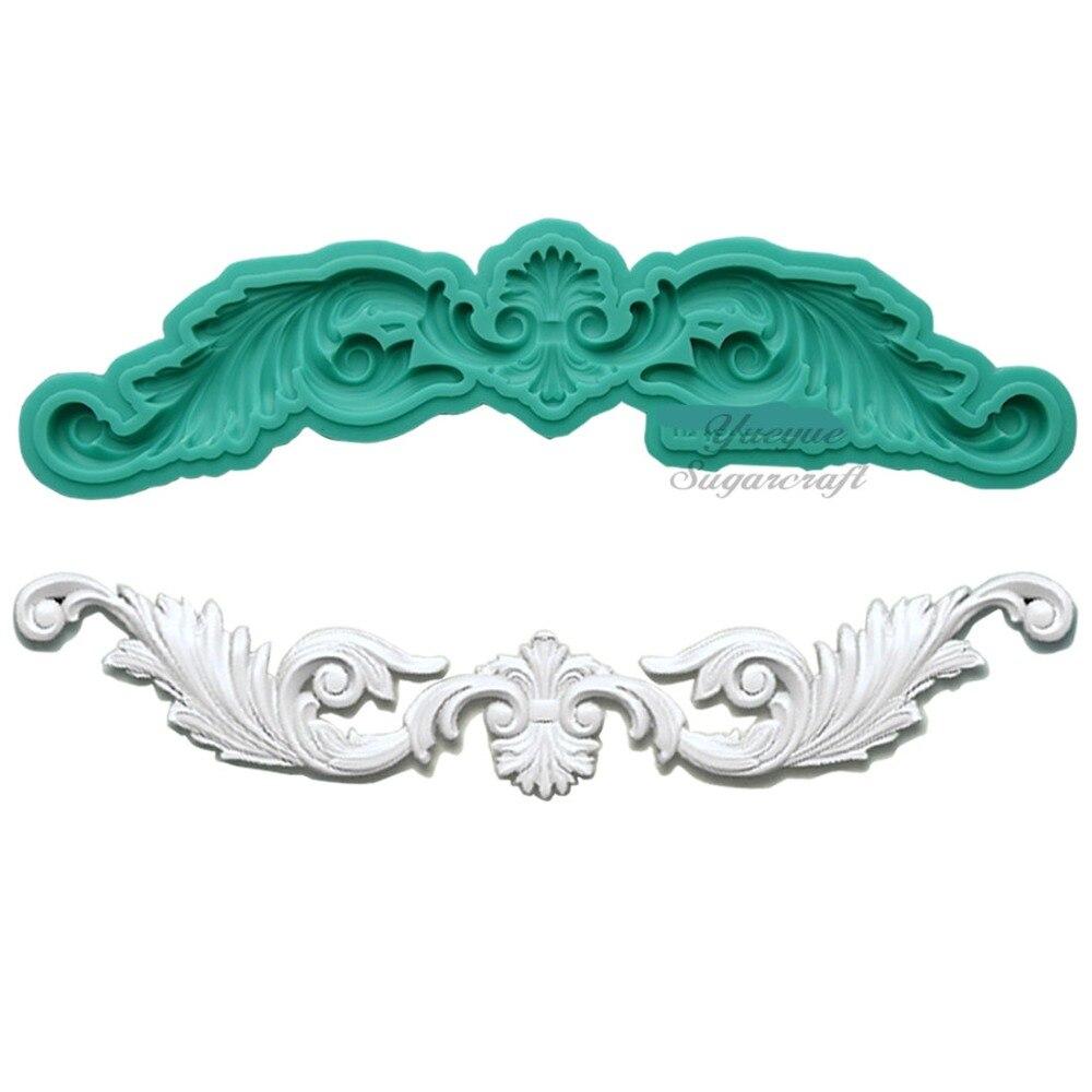 Yueyue Sugarcraft Flower silicone mold fondant mold cake decorating tools chocolate gumpaste mold|Cake Molds|   - AliExpress