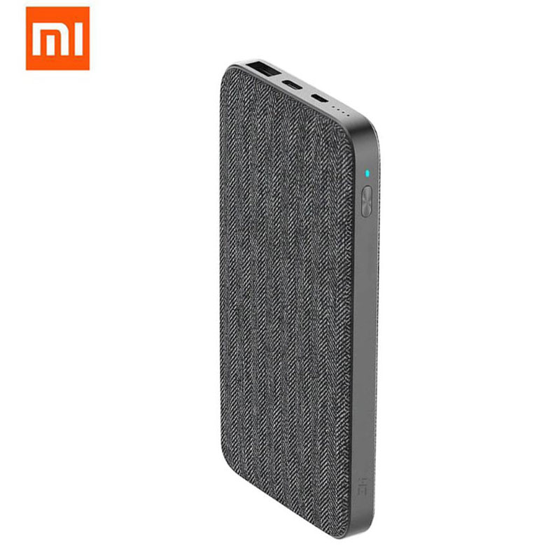 Xiaomi ZMI QB910 charge rapide 10000 mAh batterie externe type-c 2 voies 18 W Portable batterie externe Hub USB pour iPhone