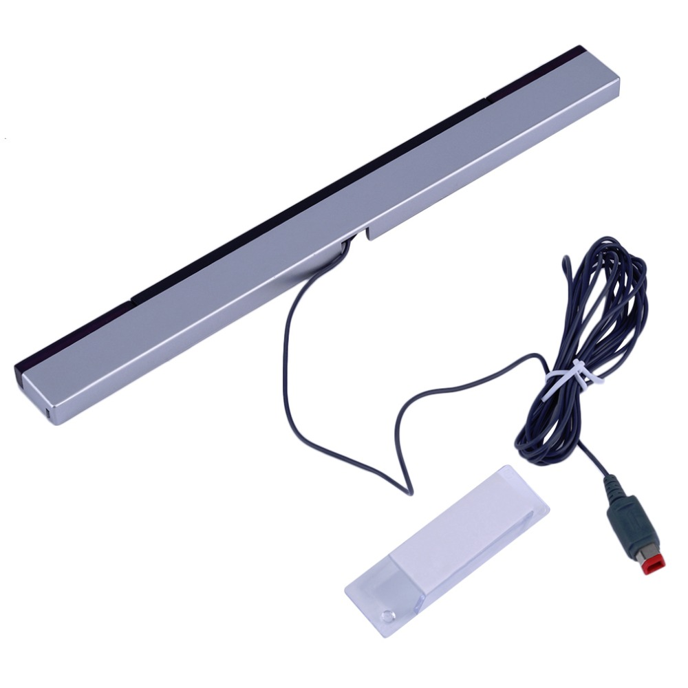 Replacement Infrared TV Ray Wired Remote Sensor Bar Reciever Inductor For Nintendo For Wii