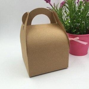 Image 4 - 30pcs/lot  Natural  brown and white Box,Kraft Paper  Packing  Box,soap  Box