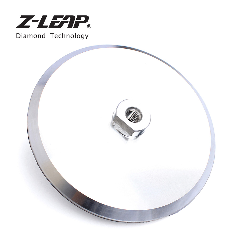 Z-LEAP 7 Backing Pad Aluminum Hook & Loop Backer Disc For Polishing Sanding Wheel Angle Grinder Polisher Pads Holder Backer Pad парка tony backer tony backer to043emxqd18
