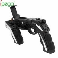 Ipega 9057 PG 9057 Gun Style Wireless Bluetooth Game Controller Vibration Joysticker Gamepad Handset For Cellphone