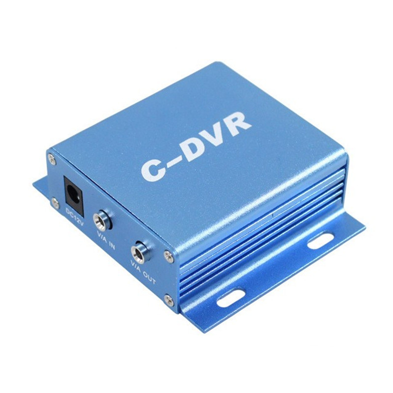 1 ch mini sd cctv dvr audio font b video b font recorder support 32G micro