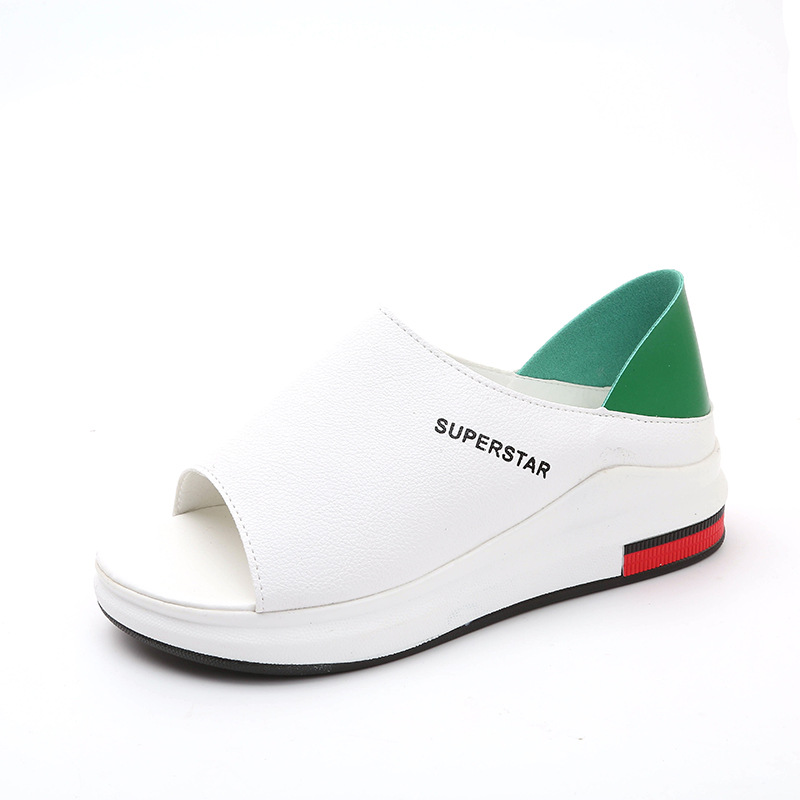 2019 New Fashion Women Sandals Spring Summer Platform Sandal Shoes Woman Peep Toe Leather Beach Casual Sandalias Mujer Plus Size2019 New Fashion Women Sandals Spring Summer Platform Sandal Shoes Woman Peep Toe Leather Beach Casual Sandalias Mujer Plus Size