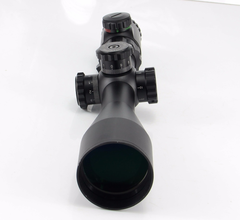 Free Shipping 4-16x50 SFIR Ballistic-x High Power Tactical Riflescope Target Weapon Sight Side Fcocus Hunting Rifle scope