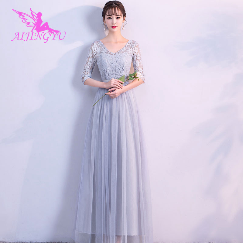 2018 sexy women's gown prom   dress   plus size   bridesmaid     dress   BN230