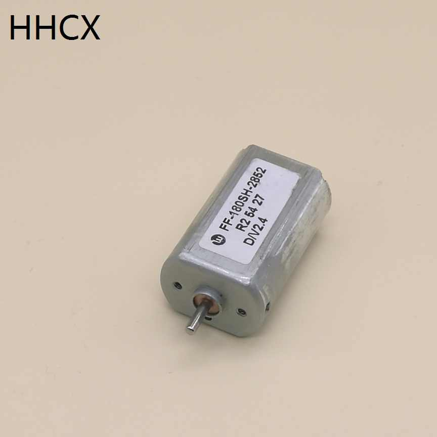 1 pçs motor dc FF-180SH 2.4vdc motor para escova de dentes elétrica/máquina de cortar cabelo elétrica/barbeador elétrico FF-180SH-2852