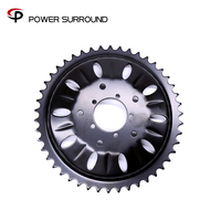 2019Free shipping 46T Chain Wheel for Bafang BBSHD/BBS03 mid drive electric bike kit