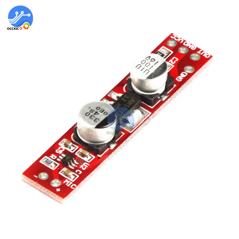 MAX9812L Amplifier Board For Microphone DC 3.6V-12V Audio Sound AMP For Arduino DIY Speaker Kit