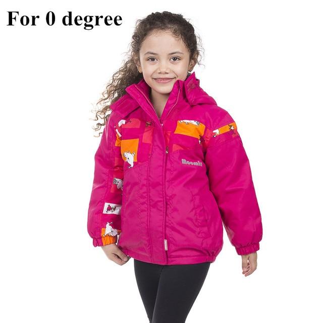 huge discount af779 c99f1 US $22.95 49% OFF|Mumin mädchen winterjacke baumwolle füllung  Reißverschluss rosa Rollkragen winter warme jacke wasserdicht winddicht  mädchen ...