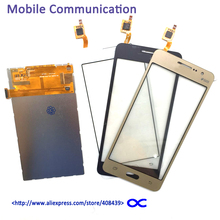 Original G530 LCD Display Touch Screen Digitizer For Samsung Galaxy Grand Prime SM-G531F G531 G530 LCD Touch Panel with Logo