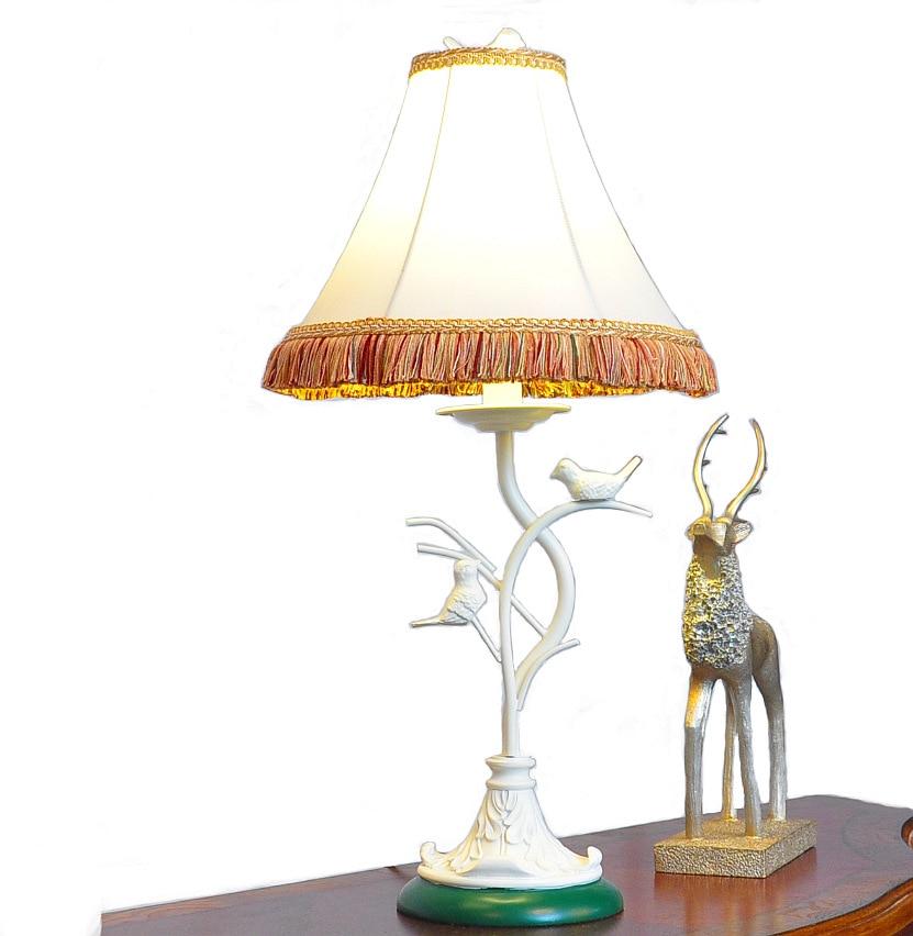 TUDA Free Shipping Creative Bird Shaped Resin Table Lamp Art Deco Style Table Lamp Classicl Design Home Decor LED Desk Lamp tuda 30 5x70cm free shipping european style table lamp led table lamp romantic design home decor table lamp for bedroom foyer