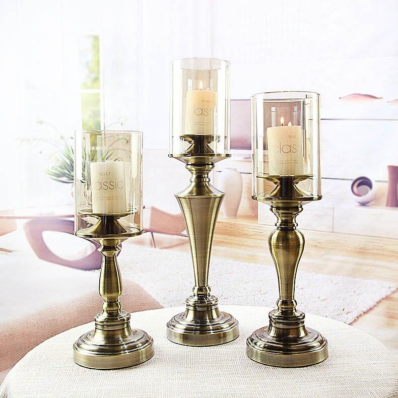 Compra candelabros de la boda online al por mayor de china ...
