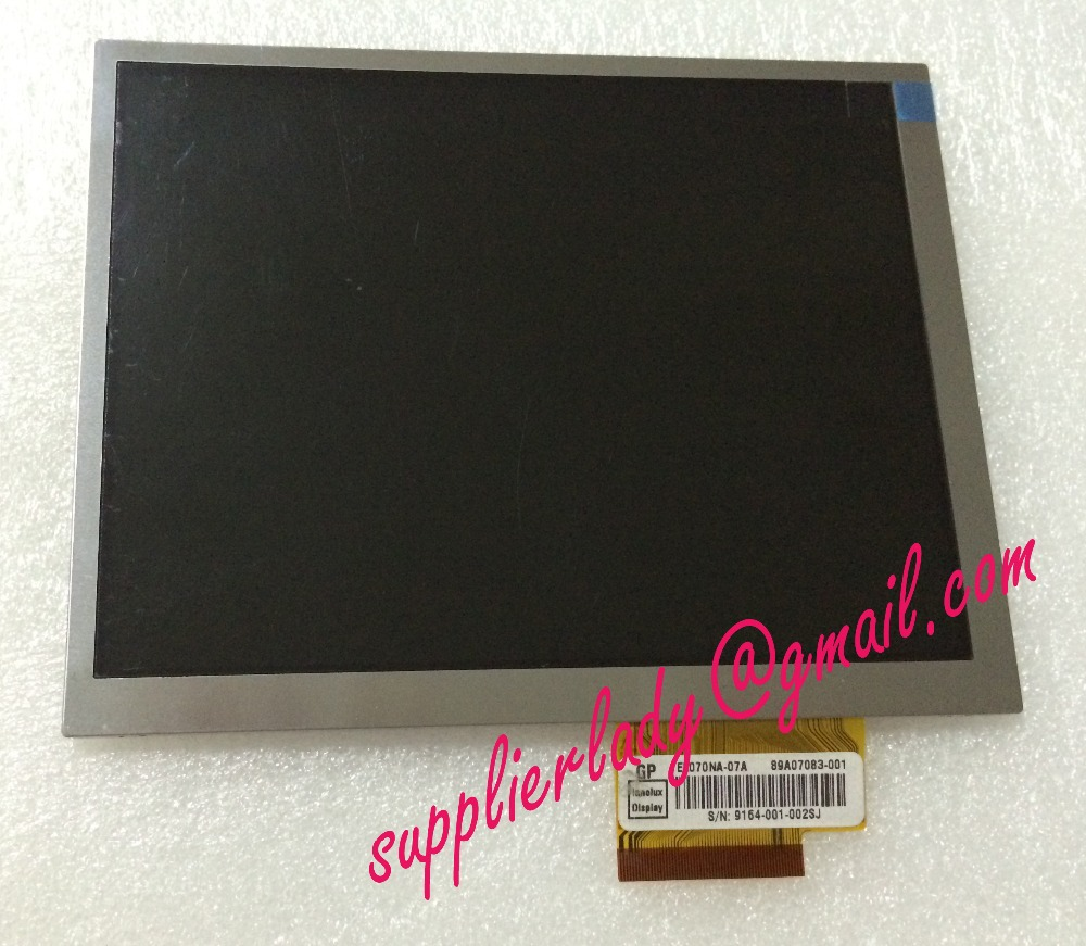 Original and New 7inch LCD screen EE070NA-07A for tablet pc free shipping original and new 7inch 40pin lcd screen hgmf0701684003a aotom for tablet pc free shipping