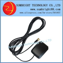 SB-CA118-SMA-5M 80pcs*Patch Car Outdoor External Waterproof Best Active Ceramic Magnetic 1575.42MHz China SMA Antenna For GPS