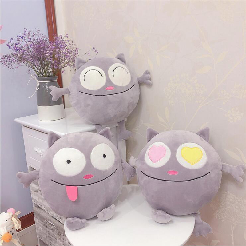 Creative Funny Cats Plush Toys Stuffed Animal Round Fat Cat Doll Toy Soft Pillow Children Girls Gift