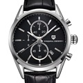 2016 Pagani Diseño Reloj Hombre reloj de cuarzo de cuero y acero inoxidable relojes hombres marca de lujo reloj deportivo relogio masculino