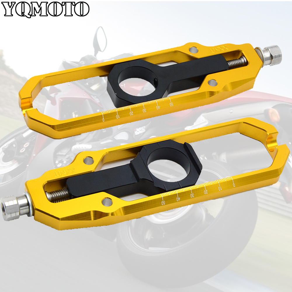 Motorcycle Aluminum Adjuster Chain Tensioner Roller For Yamaha t max530 T MAX 530 2013 2014 2015 moto racing bike accessories in Covers Ornamental Mouldings from Automobiles Motorcycles