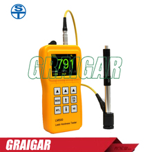 Big sale Free Shipping Leeb Hardness Tester LM500 with Color TFT Screen