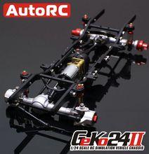 AutoRC 1 24 GK24 v2 full metal simulation climbing frame KIT Assemble Climbing font b RC