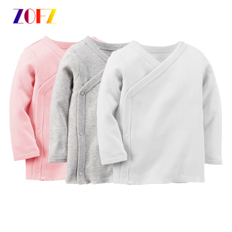 ZOFZ 2017 New baby girl cloth sweatshirt Long Sleeve Spring Children Cotton Shirt Clothing For Baby