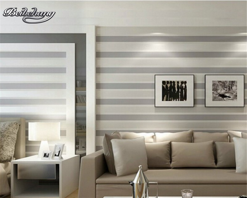 Beibehang Mediterranean-style 3D wallpaper vertical stripe 3D wallpaper modern living room bedroom decorative TV wallpaper roll beibehang wallpaper vertical stripes 3d children s room boy bedroom mediterranean style living room wallpaper page 7