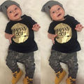 Baby Boys Newborn Outfits Set Jumper Shirt Tops Pants 2pcs Clothes Baby Boys Clothing Set Boys Clothes Set