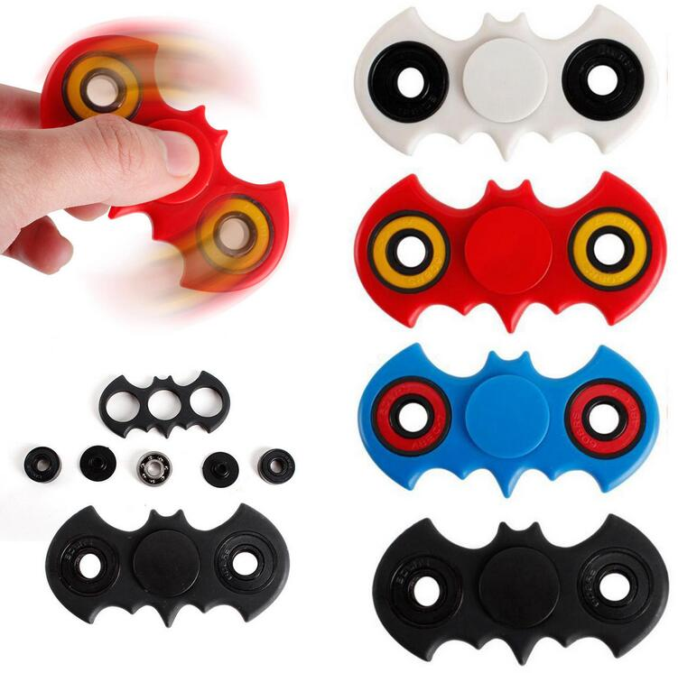 New  Spinner Batman Shape  Toy EDC Captain Hand Finger Spinner Relieve Stress Austism ADHD America Handspinner Toys