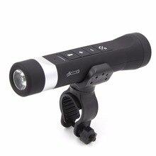 Multifunction Speakers Flashlight Music Brand Torch Bike Cycling Bluetooth Speakers Camping Light Power Bank SDYX100