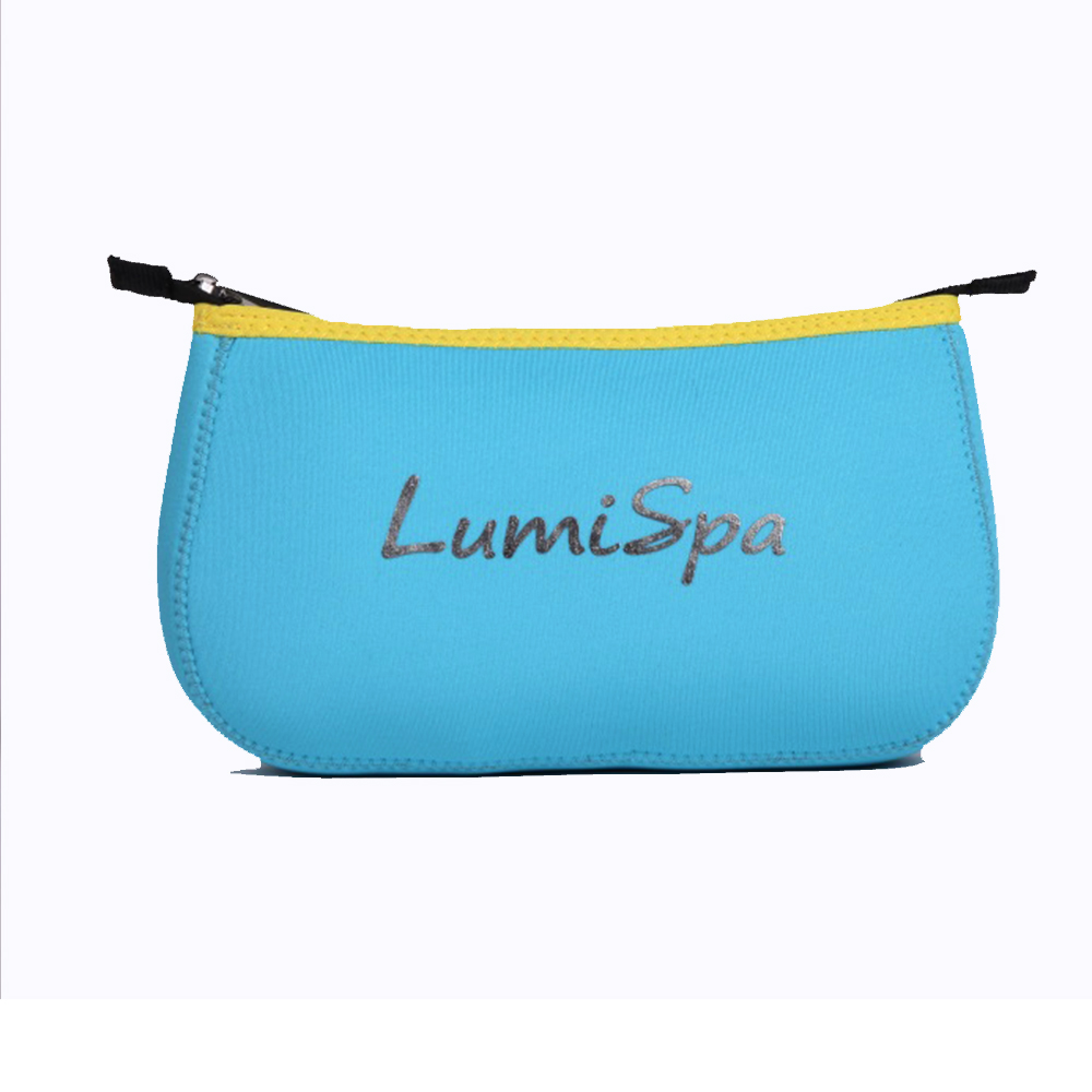 Travel Cosmetic Bag Soft Waterproof Carrying Bag Protective Sleeve For Nuskin LumiSpa Facial Brush Large Capacity Makeup Brush