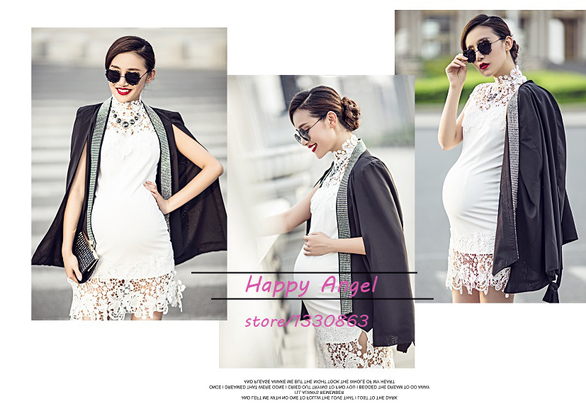 ФОТО 2016 New Maternity clothes for Photography Props pregnant women sexy Dress Pregnancy costume Summer style Free shipping