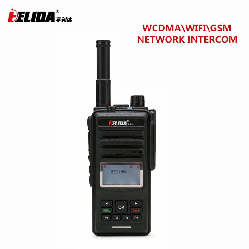 U-TALKIE Wifi Walkie Talkie 2G /3G With SIM Card WCDMA/ GSM Network Handy Android CD860 Radio 100 Mile Walkie Talkie