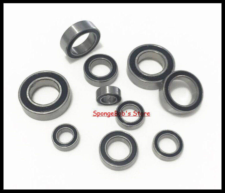 10pcs/Lot MR84-2RS MR84 RS 4x8x3mm The Rubber Sealing Cover Thin Wall Deep Groove Ball Bearing Miniature Bearing купить