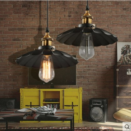 America Rustic Vintage Pendant Lights For Dinning Room In Loft Industrial Lighting Handlamp Suspenison Luminaire