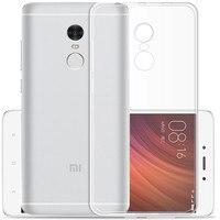 KRY Luxury Clear Soft Silicon Phone Cases For Xiaomi Redmi Note 4X Case Xiaomi Redmi 4x