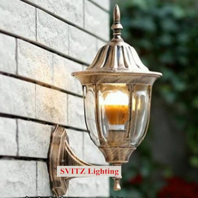 Free shipping vintage wall lamp indoor & outdoor lighting terrace ...