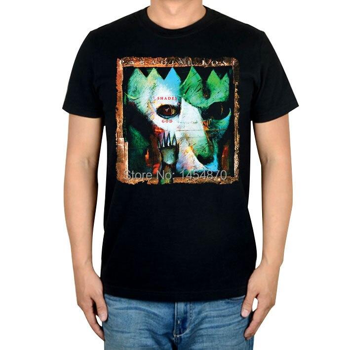 Harajuku крутой арт волк рай Lost Rock брендовая футболка хлопок панк фитнес тяжелый рок металлические черные рубашки Camiseta Ropa скейтборд