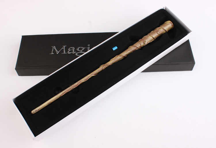 Free Shipping New Style Christmas gift  HP Hermione's Magical Wand New In Box Led Light wand