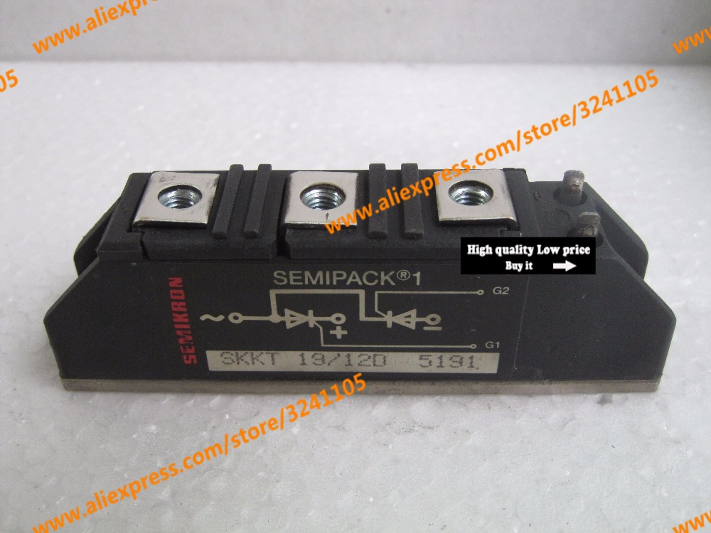 Free shipping NEW SKKT19/120 SKKT19-120 MODULE free shipping new 6mbi75s 120 50 module