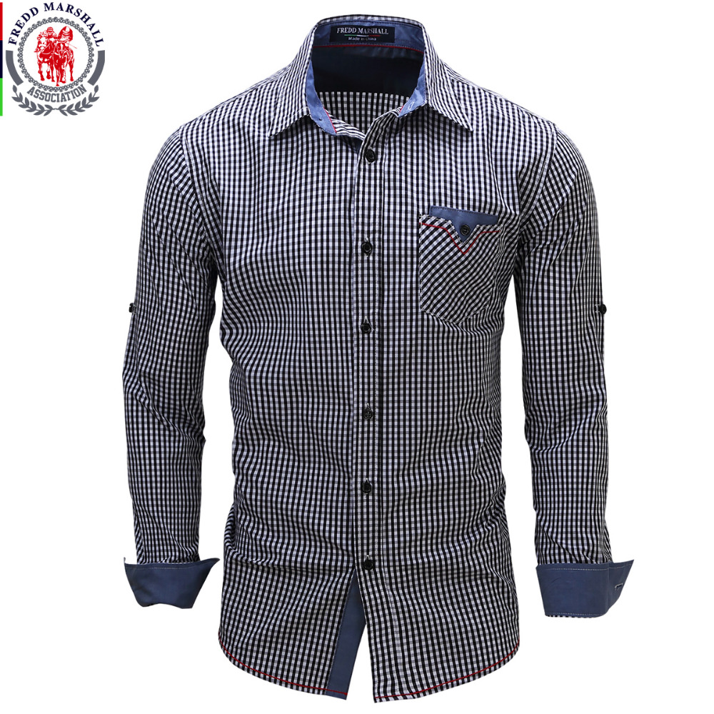 2017 new arrival men 39 s shirt long sleeve plaid shirts mens for Mens jeans and dress shirt