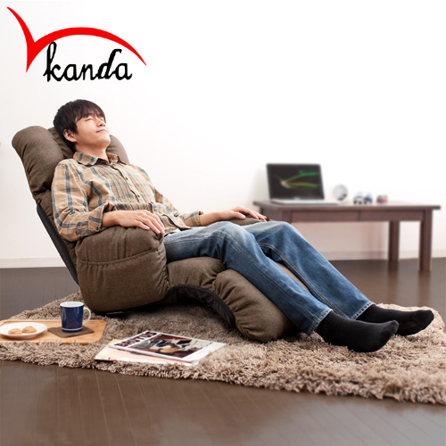 Perfect Fashion Beanbag Tatami Floor Cloth Folded Single Adult Leisure Chair  Computer Chair With Armrest Sofa