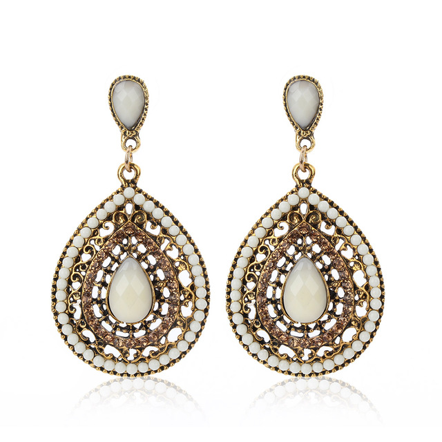 Vintage Drop Earrings For Women Ethnic Fashion