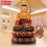 Resin crafts gifts ornaments wholesale full lotus Buddha Guanyin craft ornaments a variety of specifications color